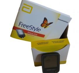 Diabetes-Blutzuckermessgerät-FreeStyle-InsuLinx