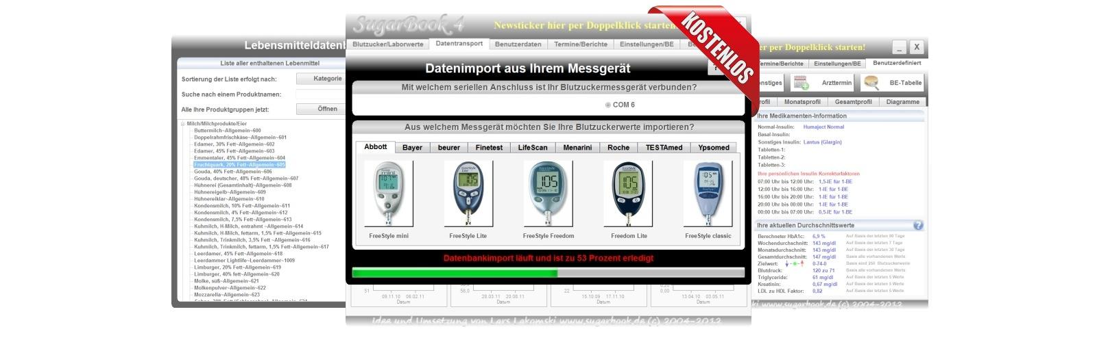 Diabetessoftware SugarBook