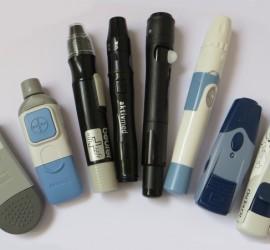 8 unterschiedliche Stechhilfen für Diabetiker im Vergleich