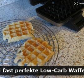Low-Carb-Waffeln für Diabetiker selbstgemacht