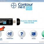 SugarBook Datenimport aus dem Bayer Contour next USB