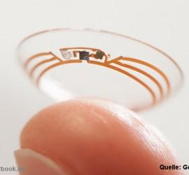 Intelligente Kontaktlinse von Google