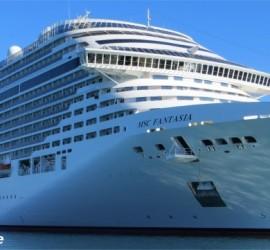 Bild vom Kreuzfahrtschiff MSC Fantasia