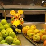 Obst-Bar auf dem Kreuzfahrtschiff MSC Fantasia