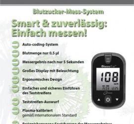 Diabetes Software SugarBook Messgerät Metrado-Gluceofine